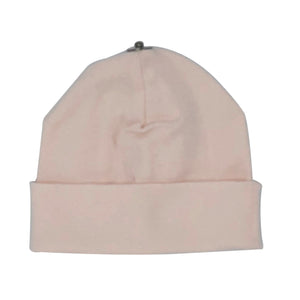 O'BELLE BABY PINK SNAP ON BABY BEANIE