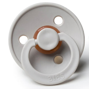 BIBS NATURAL RUBBER BABY PACIFIER- SAND