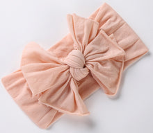 Load image into Gallery viewer, BANDEAU NYLON FLOPPY CLASSIC BOW BABY BAND