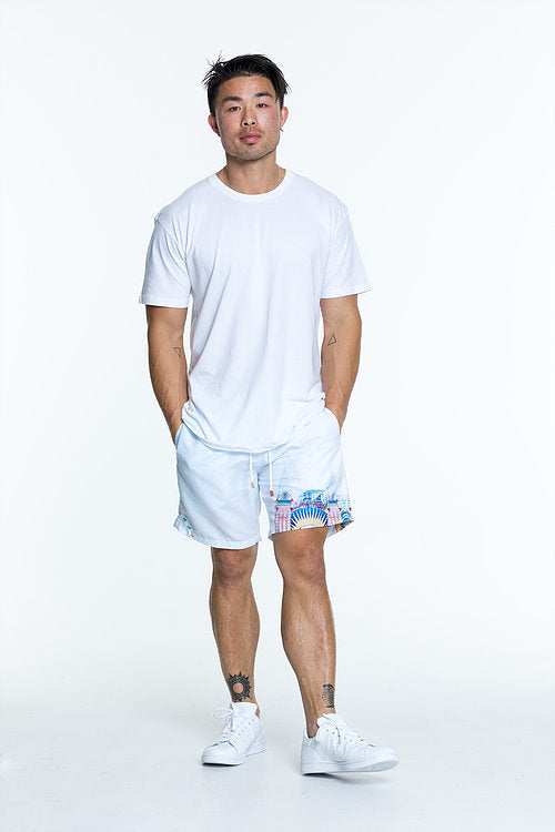 Luna designer swim shorts for men