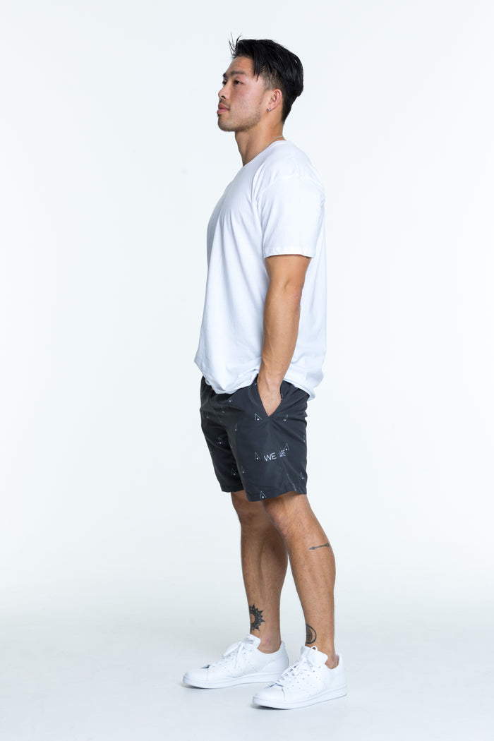 Stone signature swim shorts for men