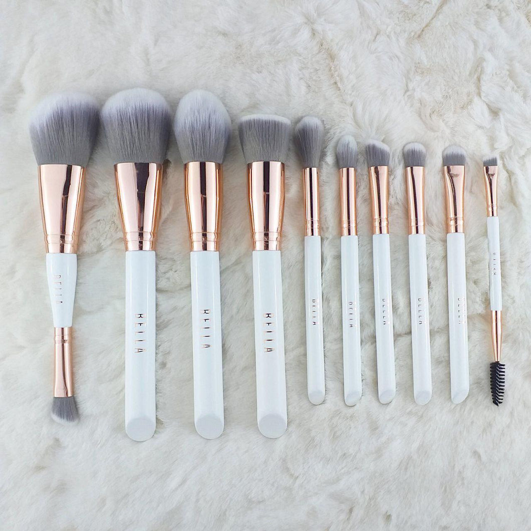 Miss Bella 10PC Bella Brush White