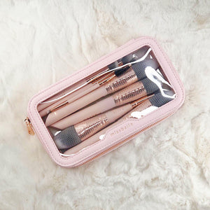 Miss Bella 10PC Bella Brush Pink with Pouch