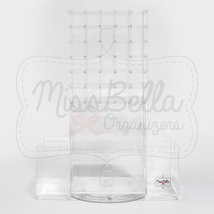 Rotating Lipstick Holder Large Clear