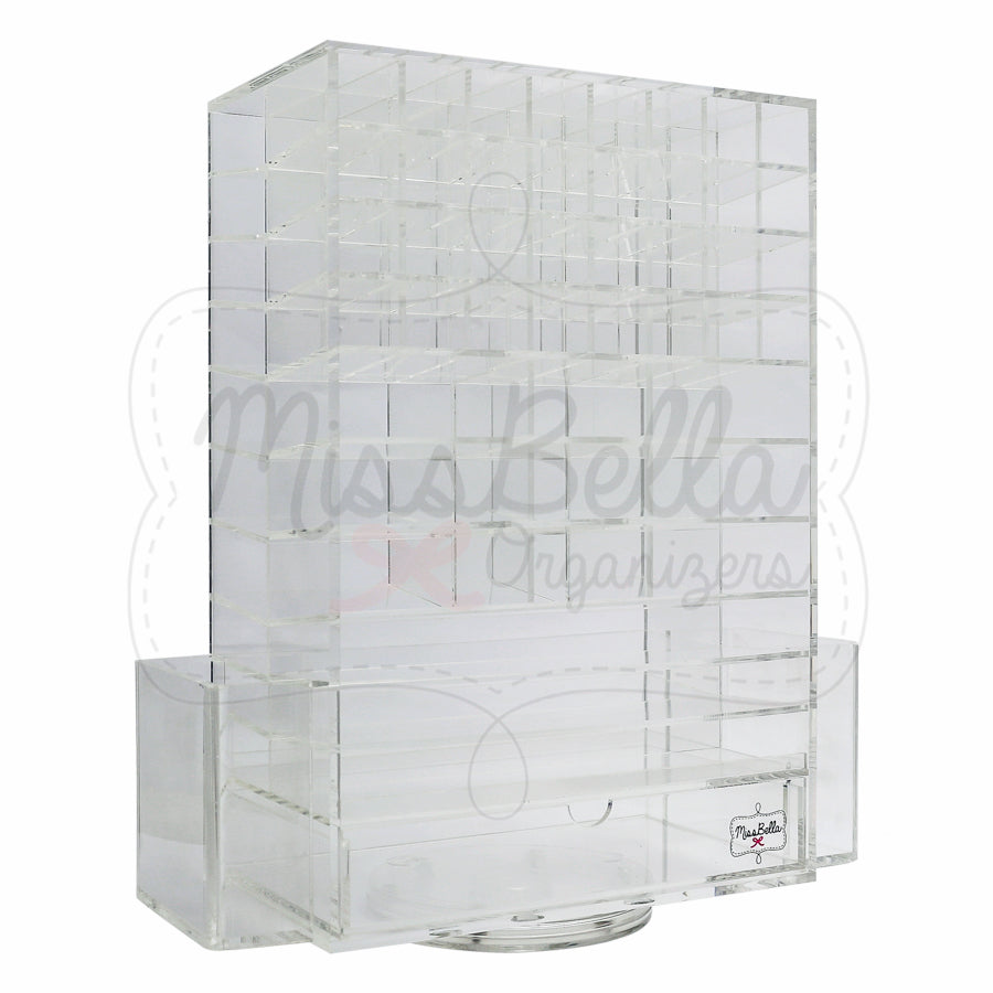 Rotating Lipstick & Palette Holder Clear