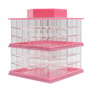 Rotating Lipstick Holder Pink