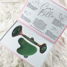 Jade Roller Set with Gua Sha
