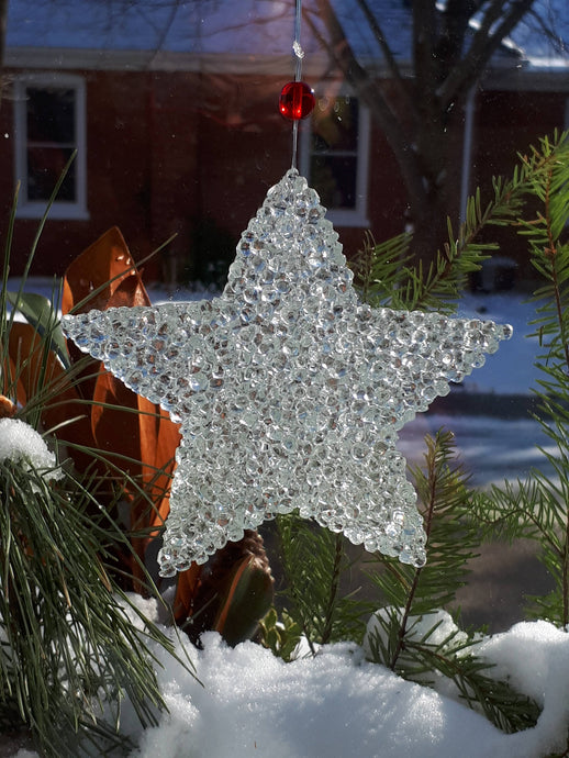 Sparkly Star Ornament