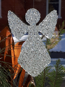 Sparkly Angel Ornament