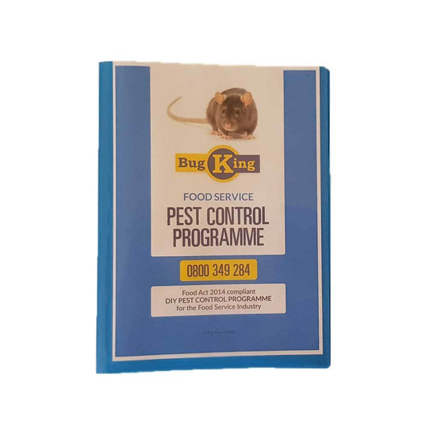 DIY Pest Control | Food compliance folder