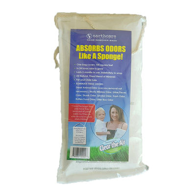 Rodent odour removal bag