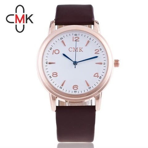 2017 New Luxury Color Clock Fashion High Quality Casual Watch Color Watch Top Brand Watches PU leather Men's Quartz Watch - FainWatch