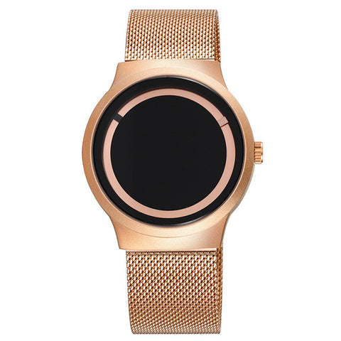 SKONE Unisex Watches Luxury Brand Men's Watch Fashion Unique Style Quartz Watch Women Girls Mesh Net Band Clock Personality Gift - FainWatch