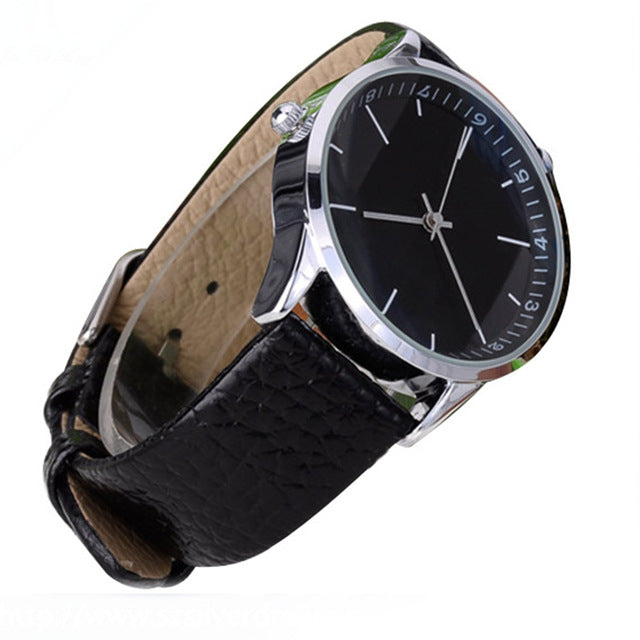 New brand Luxury Quartz Watches Men unisex Fashion Casual Leather Watch Sports time fly back Military wristwatch watch men new - FainWatch