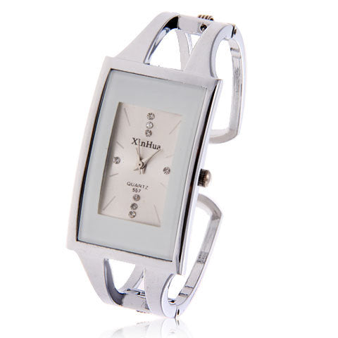 Luxury Crystal Bracelet Wrist Watch Women's Watches Women Watches Full Steel Ladies Watch Clock montr femme relogio feminino - FainWatch