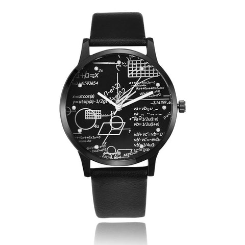 MILER Unique Wrist Watch Men Watch Leather Men's Watch Fashion Watches Clock saat erkekler erkek kol saati reloj hombre relojes - FainWatch