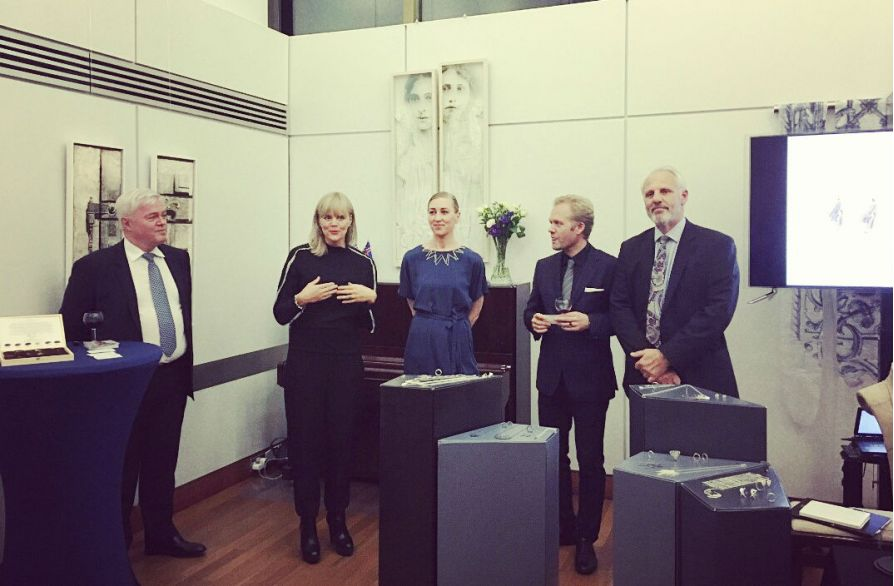 Exclusive Presentation of the new Cygnus Collection at the Icelandic Embassy in London