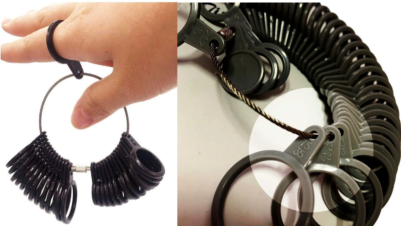 Ring sizing tool - how to measure your ring finger accurately