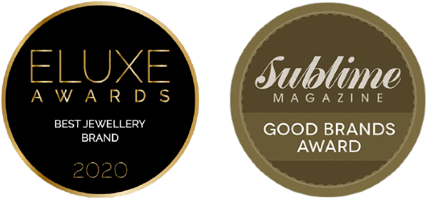 eluxe best jewellery brand award, sublime magazine good brand award