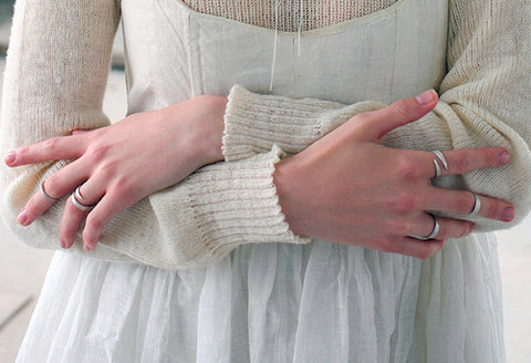 Tuttu rings by Aurum Icelandic jewelry