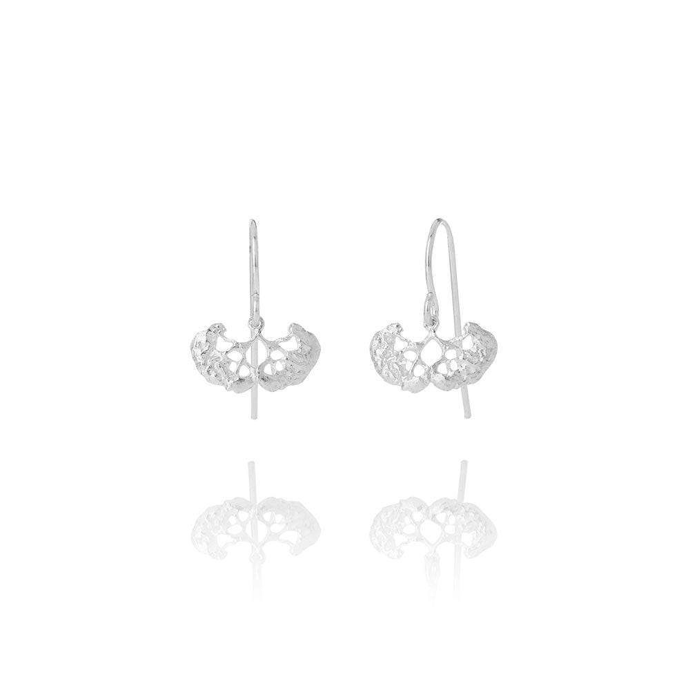 Erika 102 Sterling Silver Earrings - AURUM Icelandic Jewelry
