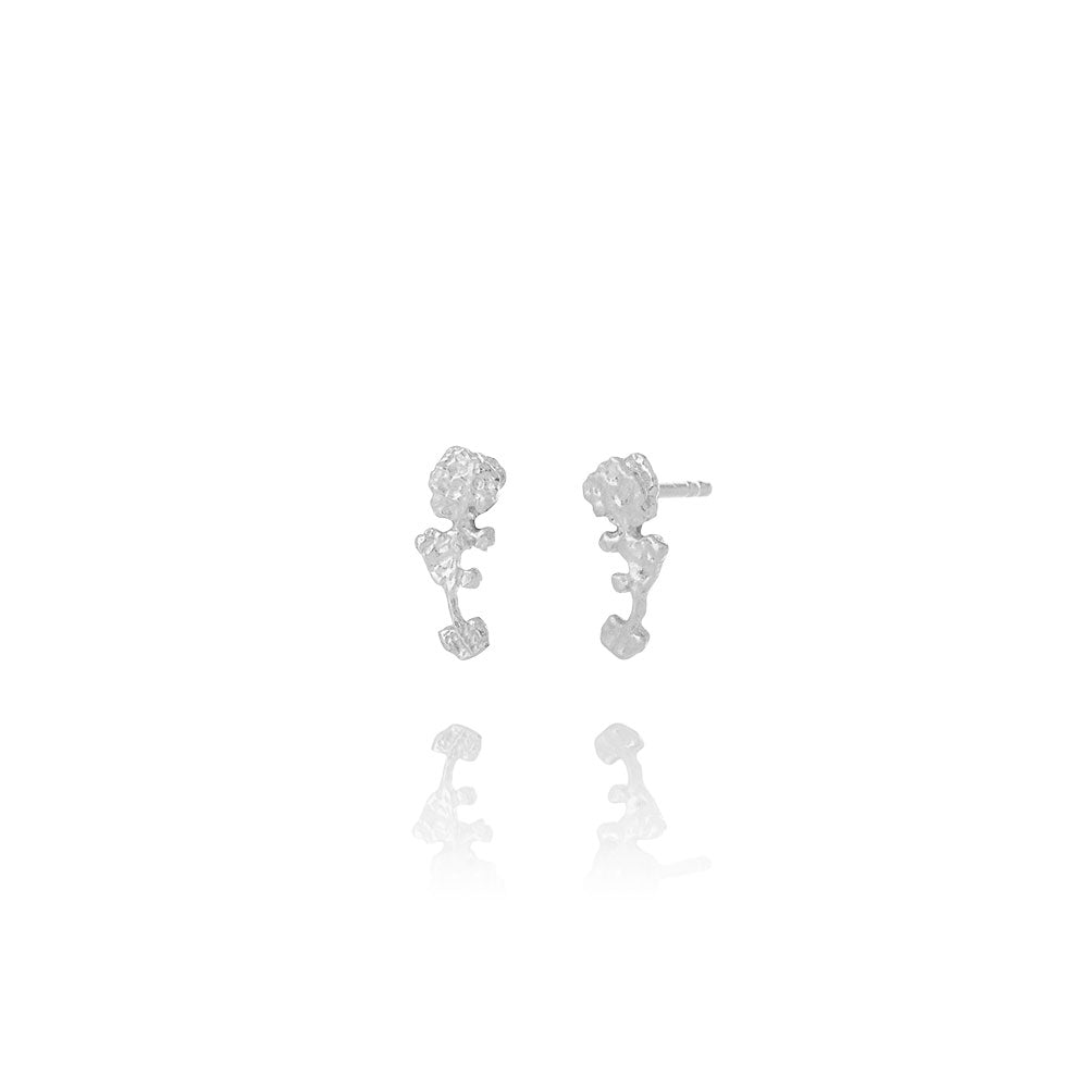 Erika Collection 103 Sterling Silver Earrings - AURUM Icelandic Jewelry