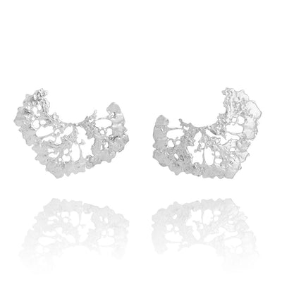 Erika Collection 110 - Earrings in 925 Sterling Silver - AURUM Icelandic Jewelry