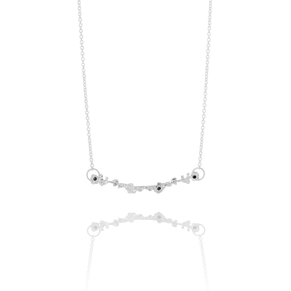 Erika Collection 202 - Sterling Silver Necklace - AURUM Icelandic Jewelry