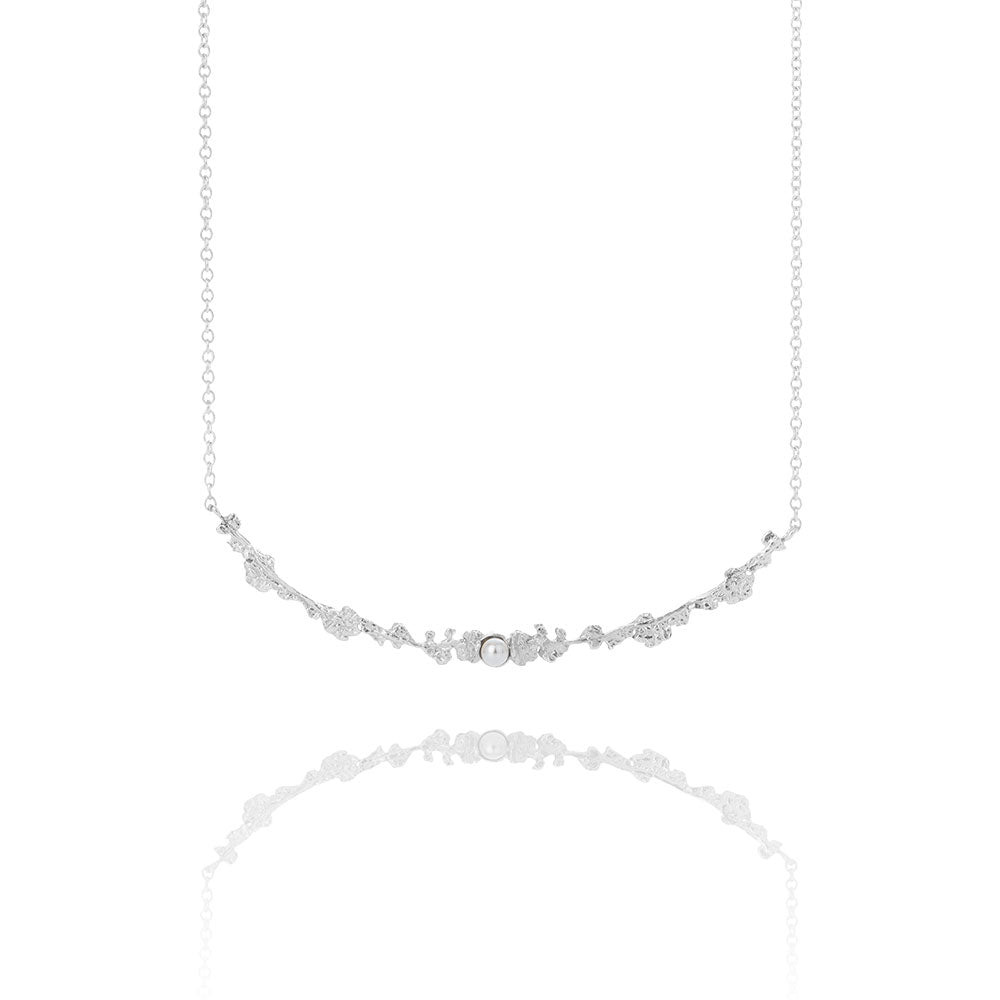 Erika Collection 203 - Sterling Silver Necklace - AURUM Icelandic Jewelry