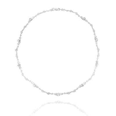 Erika Collection 206 - Sterling Silver Necklace - AURUM Icelandic Jewelry