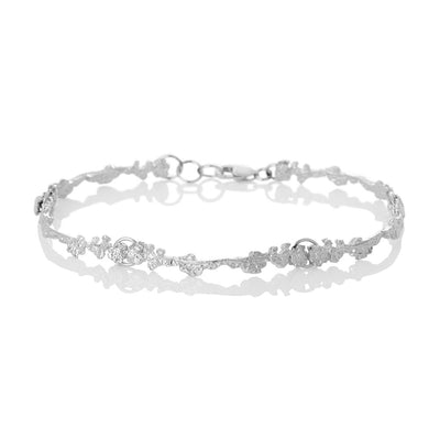 Erika Collection 302 -  Sterling Silver Bracelet - AURUM Icelandic Jewelry
