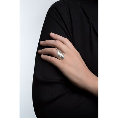 SWAN ring 18K solid gold