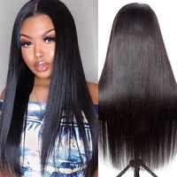 Glueless GLAMOROUS WOMEN LONG STRAIGHT WIG