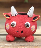 Hand Made Red Ox Pot