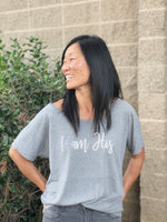 I am His | Short Sleeve Wide Neck Tee - Calvary Chapel Tustin