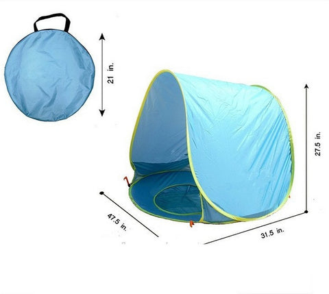Baby Personal Covered Pool Size