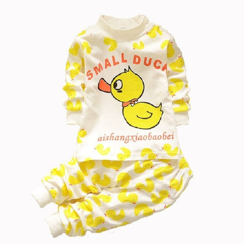 Cute Small Duck Colorful Baby Suit with