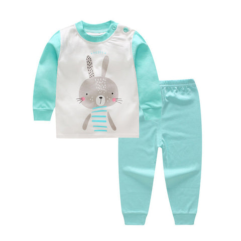 Cute Colorful Baby Suit with Rabbit
