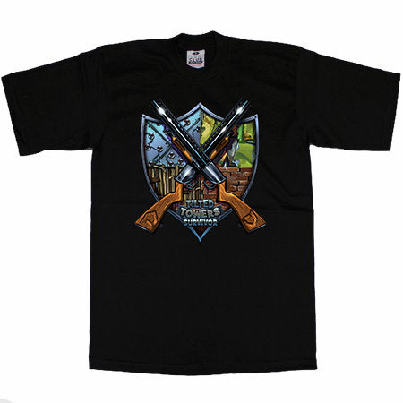 """Tower Survivor"" Black T-Shirt"