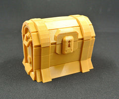 "Real Life ""Gold Loot Chest""!"