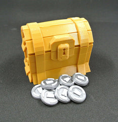 "Real Life ""Gold Chest"" + 10 ""V-Bucks"" Bundle!"