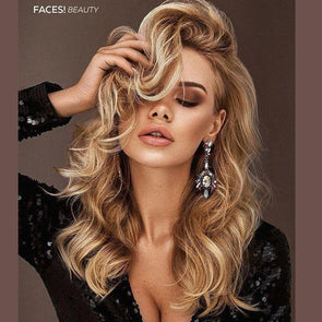 New Fashion Brown Wave Wig