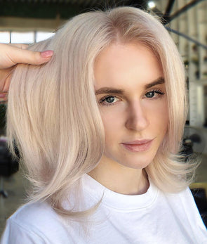2019 Beauty Natural Blond Wig