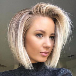 Amazing Blended Blond Bob Wig