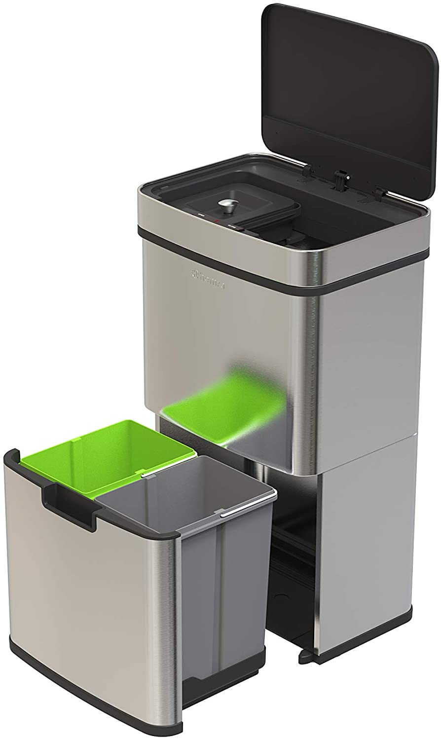 72L Recycling bin with sensor