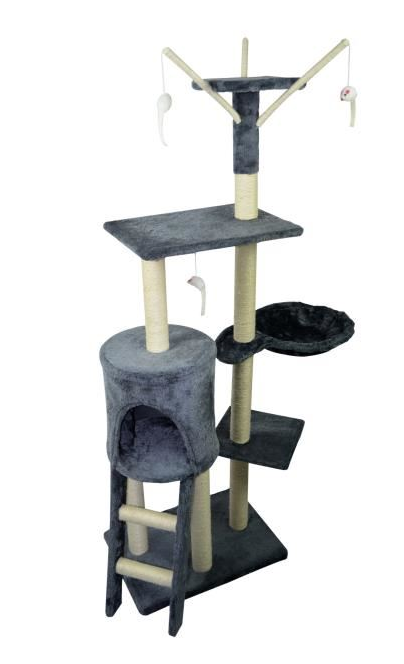 Large cat tree scratcher with lounger - My Discount Malta