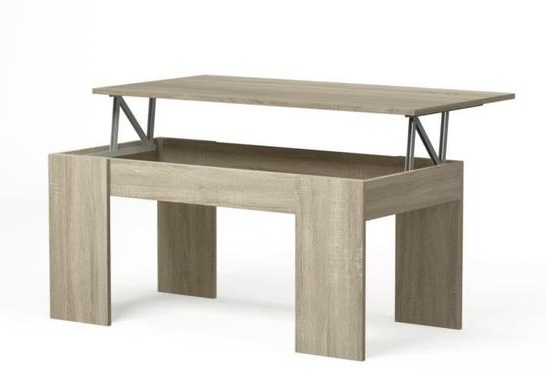 SWIFT coffee table with Lift-Top system - My Discount Malta