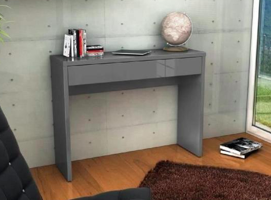 RENA Contemporary style console shiny grey - My Discount Malta