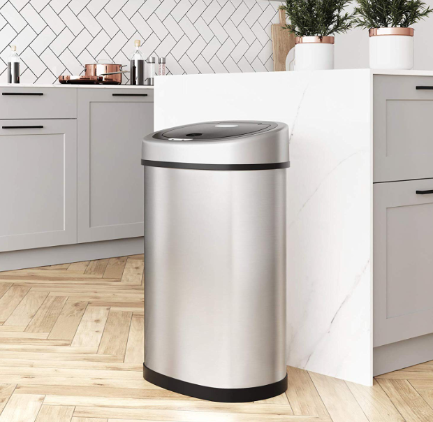 50L Auto Sensor Bin for Kitchen Waste - My Discount Malta