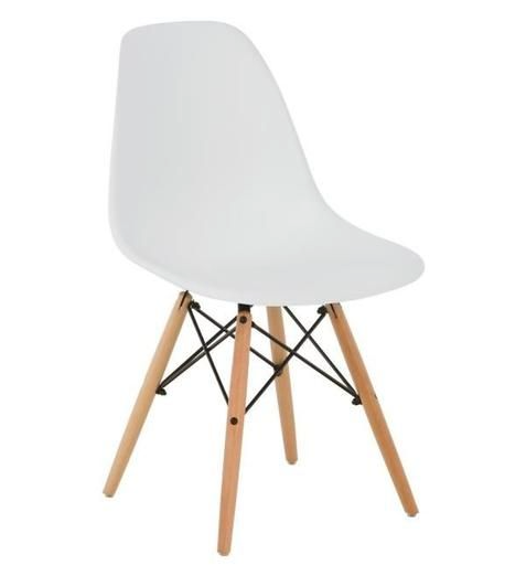 BRAKKA - 6 Dining Chairs Nordic Style White  Dining Chairs boutique-discount-malta.myshopify.com My Discount Malta
